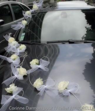 décoration des voitures des mariés